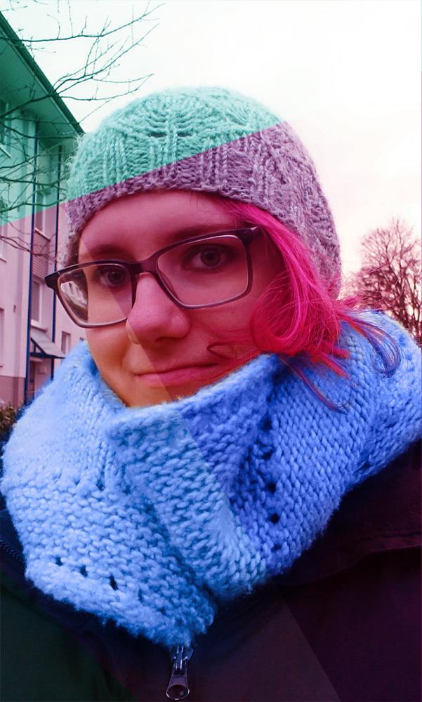 Kuki Design Monique Kurkowski Prodilbild Pinke Haare