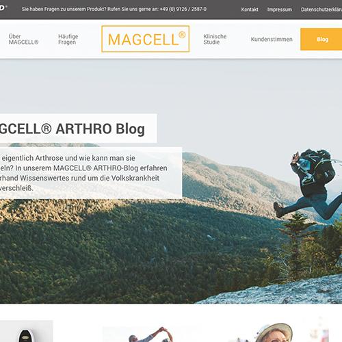 Kuki Design MAGCELL Vorschau Webseitengestaltung