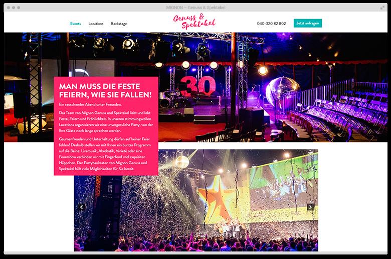 Kuki Design Web Gestaltung Umsetzung Migus Responsive WordPress Unterseite Desktop